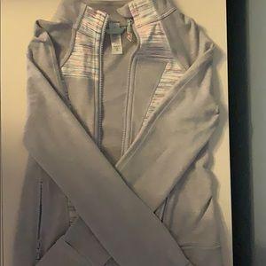 Barley Worn Gray Ivivva Zip Up Jacket